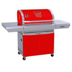 North Carolina State University Wolfpack  - first-ever high-end gas grill designed specifically for sports fans in team colors with logo
