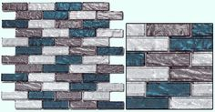 Fuda Tile | Glass Tile | Impression Series IMP-08 Rushing River