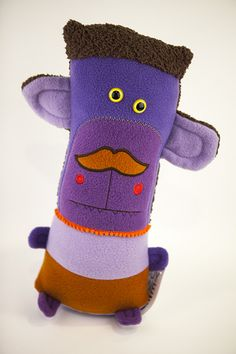 Another shot of Stanley.  http://amonstertolove.com/monster-shop/stanley-with-a-stache