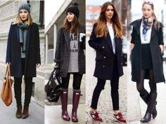 Looks para o inverno usando Sobretudo/ Trench coat