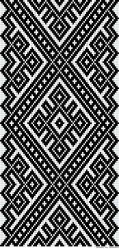 Awesome Most Popular Embroidery Patterns Ideas. Most Popular Embroidery Patterns Ideas. Tapestry Crochet Patterns, Bead Loom Patterns, Weaving Patterns, Geometric Patterns, Inkle Weaving, Tablet Weaving, Bead Weaving, Cross Stitch Borders, Cross Stitch Designs