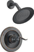 Delta Foundations BT14296-OB Monitor 14 Series Shower Trim, Oil Bronze