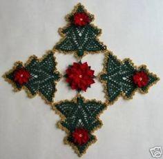 Risultati immagini per croche de natal