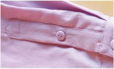 how to add a perfect placket to any sleeve -- via Threads Magazine