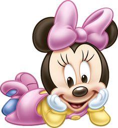 "Kit de Personalizados ""Minnie Mouse Baby"" para Imprimir - Convites Digitais…"