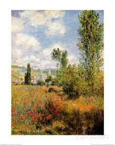 Ile Saint Martin, Vetheuil Kunstdrucke von Claude Monet bei AllPosters.de