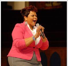 Tamela Mann performs at McDonald's seventh annual Inspiration Celebration Gospel Tour.