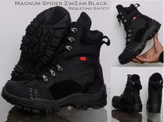 ZimZam Sepatu Magnum PDL Full Black