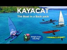 Kayacat - The Boat in a Backpack! A #Kickstarter Project - Only 15 days to go on ‪#‎Kickstarter‬, so boogie on over and take advantage of our discounted worldwide shipping prices! Models start from £505 including shipping anywhere in the world! http://kck.st/2acYMvq