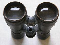 Fernglas Dienstglas 08 Emil Busch Doppelfernrohr super Optik Glas WK1 Feldgrau | eBay
