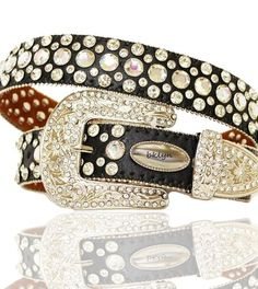 OSTRITCH #RHINESTONE #BELT  $69.99 http://www.blingtack.com/product/ostritch-rhinestone-belt/