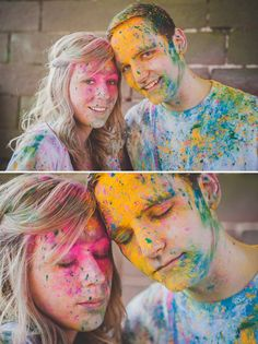 A Powder Paint Fight Engagement