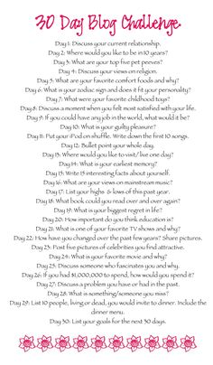 This is great!  30 Day Writing  Challenge @Holly Elkins Taylor might be good for the new year.