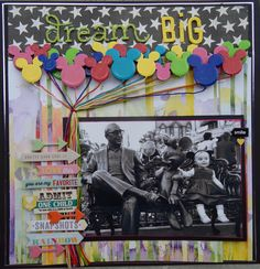 Dream Big - Scrapbook.com - Load on Diamond Glaze and paint to create gorgeous, glossy 3 dimensional accents.