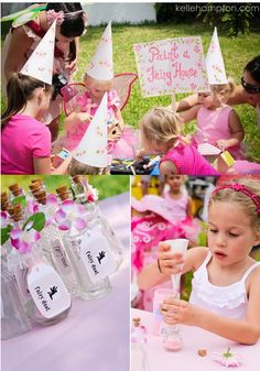 Adorable ideas for an Enchanted Fairy Forest birthday party. What a sweet theme!