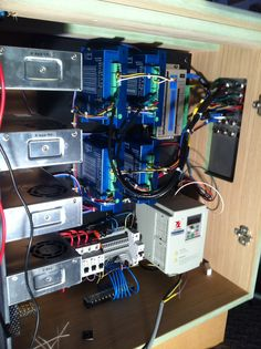Cnc drivers and power supply housing