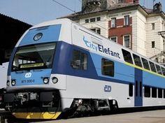 First double-decked electric train Skoda arrives in Kharkiv - Ukraine - News - Ukraine Business Online Ukraine News, Choo Choo Train, Double Deck, Electric Train, Recreational Vehicles, Business, Travel, Trains, Viajes