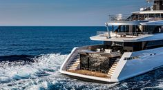 Have you ever wondered what it would be like to spend a week or two on an incredibly impressive yacht? Well, we have handpicked our top five favourite super yac