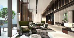 scda show villa Lobby Interior, Living Room Interior, Interior Design, Corporate Office Design, Hotel Lounge, Lobby Lounge, Lounge Design, Lounge Decor, Scda Architects