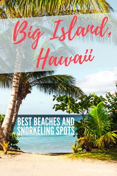 The best Big Island beaches in Hawaii! The most gorgeous beaches with Hawaii beach pro-tips. Your guide to Kona beaches, Hilo beachs and black sand beaches Hawaii Vacation, Hawaii Travel, Beach Trip, Travel Usa, Travel Tips, Beach Vacations, Beach Travel, Vacation Spots, Vacation Ideas