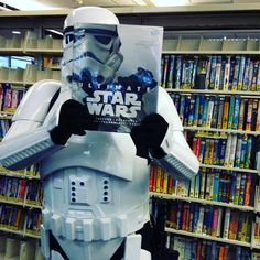 The Force is strong with this #bookfacefriday via @blairmemoriallibrary. ⭐️ Have you seen #TheForceAwakens yet? No spoilers!