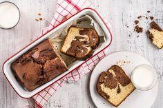 Luftiger Marmorkuchen - Rezepte | little FOOBY Vanille Bourbon, Banana Bread, Desserts, Food, Chocolates, Kitchen Workshop, Parchment Paper Baking, Marble, Kid Cooking