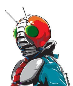 kamen rider by seanlon on DeviantArt Gundam, Illustration Example, Japanese Robot, Japanese Superheroes, Kamen Rider Series, Super Robot, Manga Artist, Cultura Pop, Popular Culture