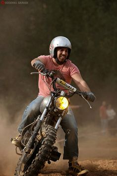 Smiling http://goodhal.blogspot.com/2013/10/man-and-machine-215.html #ManAndMachine #Motorcycle