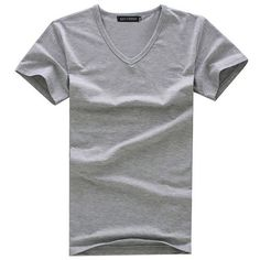 b7b787e859cf Special sales Cotton stretch Men T shirt men s o-neck short-sleeve T shirts