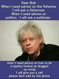 Dear Bob...