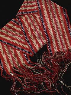 Eastern Woodlands Finger-Woven Beaded Sash | Lot | Sotheby's