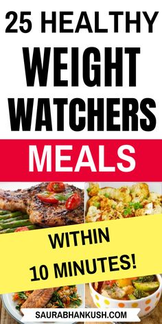 Best Weight Watchers Meals with Points - Look at 25 Easy Weight Watchers Meals with SmartPoints, and these meals include weight watchers dinner recipes, weight watchers Breakfast, ww Lunch & weight wa Weight Watchers Desserts, Weight Watchers Casserole, Weight Watchers Lunches, Weight Watchers Meal Plans, Weight Watchers Breakfast, Weight Watchers Diet, Weight Watcher Dinners, Smart Points, Ww Points