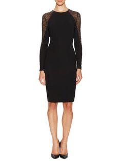 Lace Trim Sheath Dress from Classic Staples: Designer Dresses on Gilt