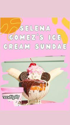 Chocolate Ice Cream, Vanilla Ice Cream, Sundae Recipes, Dessert Restaurants, Ice Cream Party, Hot Fudge, Frozen Desserts, Treat Yourself, Selena Gomez