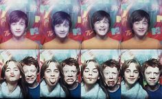the harry potter famous 3...so little so cute! {notice daniel r. in the top row....basically the same face ha ha ha nice}