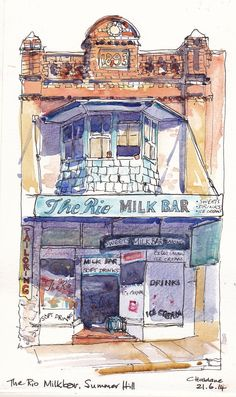 Rio milk bar, Summer Hill, NSW