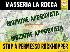 """Gianni Leggieri e Gianni Perrino (M5S): approvata una nostra mozione che impegna la Giunta a deliberare sfavorevolmente rispetto al permesso di ricerca petrolifera """"Masseria La Rocca"""""""
