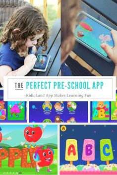 The KidloLand app is incredible for kids 1-5. With games, learning modules and songs it is sure to keep the littlest people in your house busy.
