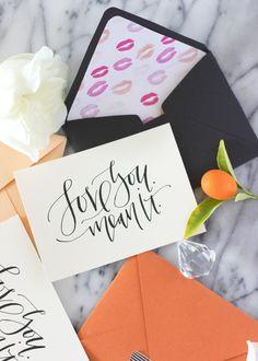 A Fabulous Fete: the atelier x a fabulous fete // printable valentines