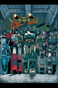 The Wreckers - Autobots - Transformers