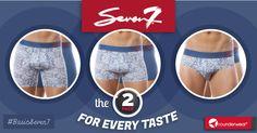 El underwear de todos los tiempos será #Seven7 #Rounderwear #Underwear