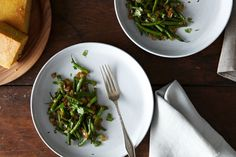 Fried Oniony, Garlicky Green Beans recipe on Food52
