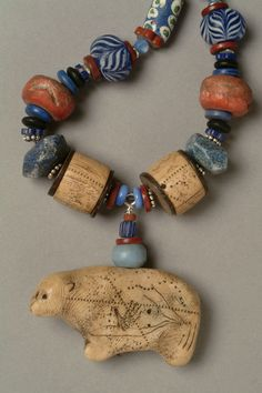Big Bear Necklace (click to enlarge)