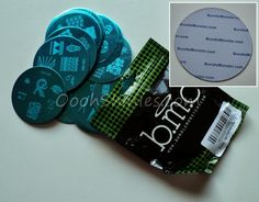 Review of the Bundle Monster CYO nail art stamping plate collection