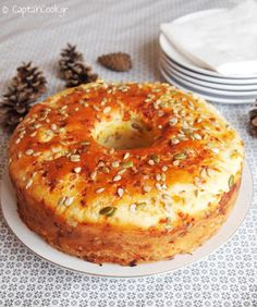 It All Tastes Greek To Me: Fabulous No Knead Cheese Bread – Brenda Samartgis – – anton french 431 – macedonian food Greek Bread, Cyprus Food, Greek Cheese, Macedonian Food, Greek Sweets, Greek Cooking, Think Food, Cheese Bread, Cheese Cakes