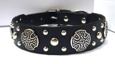 Celtic Leather Dog by Kin Collars https://www.etsy.com/listing/193734311/celtic-leather-dog-collar-celtic-dog