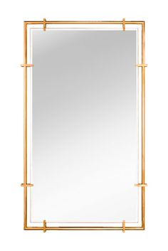 RECTO MIRROR- JOYCE WANG Full length extra-wide mirror with 1950s American fittings detailing.