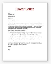 Write my resume and cover letter