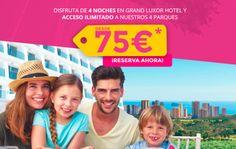 Oferta de Estancia + Entradas en Terra Mítica desde 75€