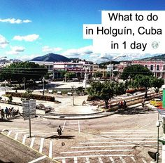 Your guide to spending the day in Cuba's third largest city, Holguín, including accounts of our favourite experiences in the city. Vacation Packing Checklist, Packing Tips For Travel, Best Places To Travel, Places To Visit, Travel Around The World, Around The Worlds, Cuban Culture, Holguin, Cuba Travel